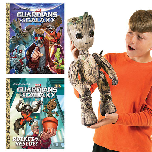 Guardians of the Galaxy 2 Books and Puppet SetNew!