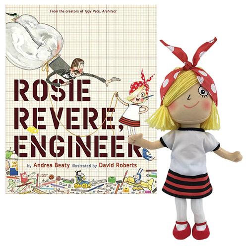 Rosie Revere, Engineer Book and Doll SetNew!
