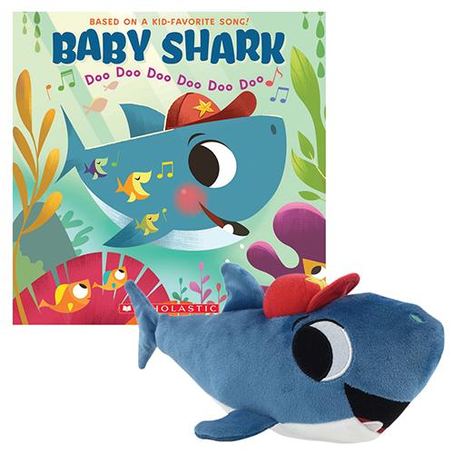 Baby Shark Book and Plush SetNew!