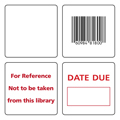 Checkpoint® Radio Frequency 50 x 50 RF Tags (Formally Series 300 Labels)