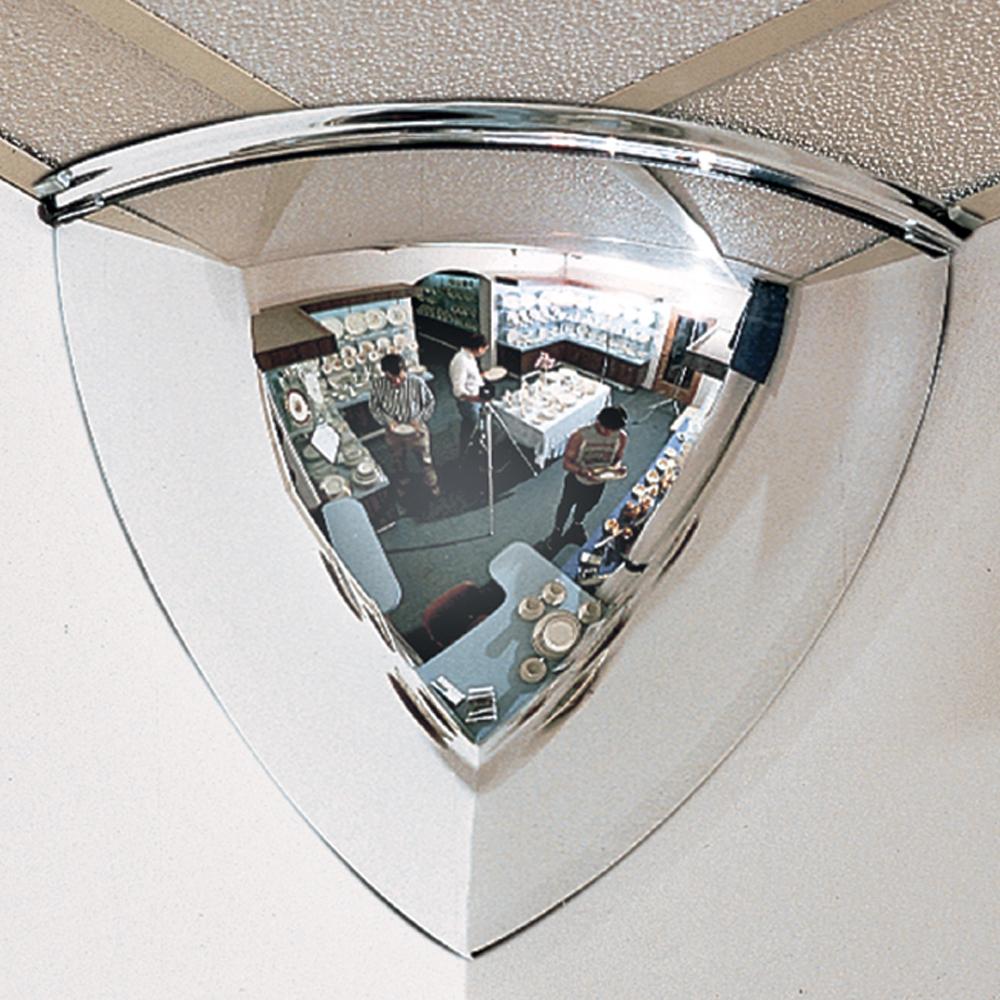 90° Quarter Dome Security Mirrors