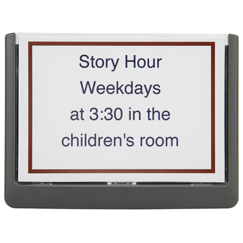 "Sign Inserts - 5-7/8""H x 5-7/8""W - CLEARANCE -  Save 53%"