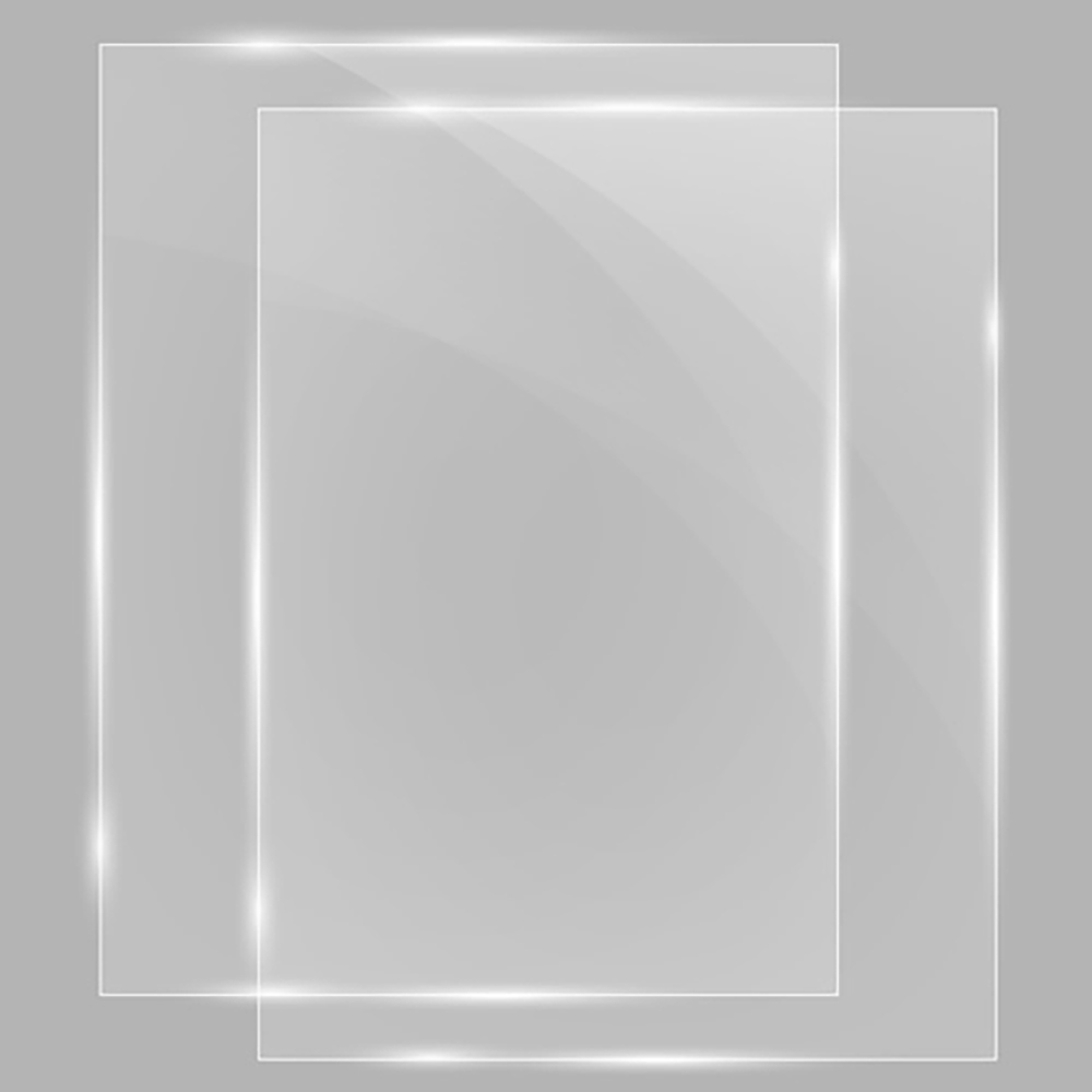 Poster Sign Stand Clear Protective Cover Inserts - 2/Pkg