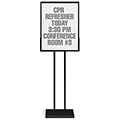 Versa-Frames™ Poster Stand - White Tackboard Insert