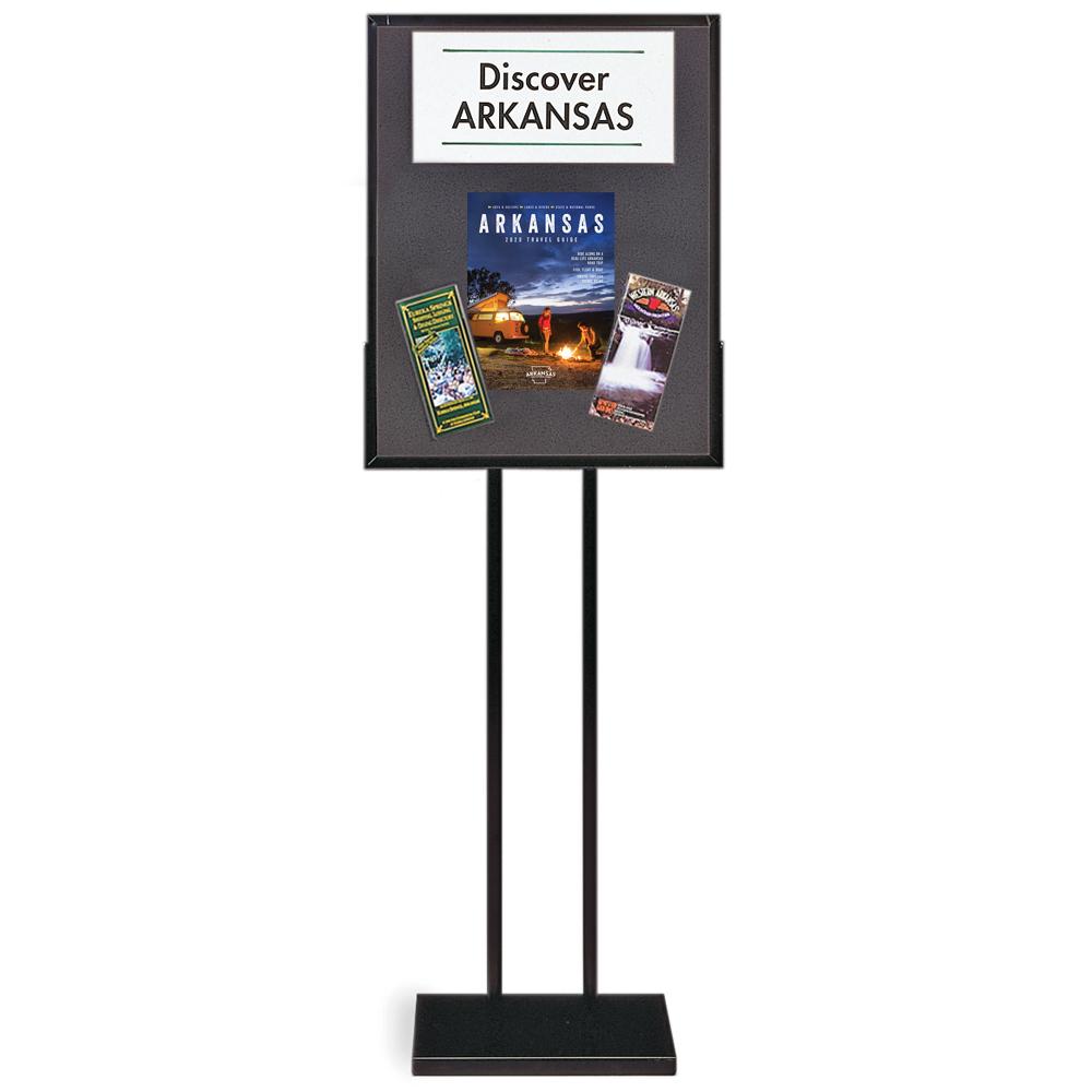 Versa-Frames™ Poster Stand - Black Fabric Insert