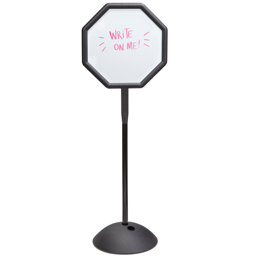 SAFCO® Write Way® Message Sign - Octagon