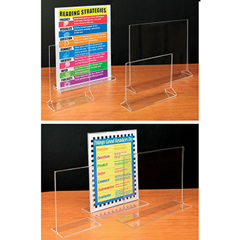 Countertop Displays Double Sided Acrylic Frames