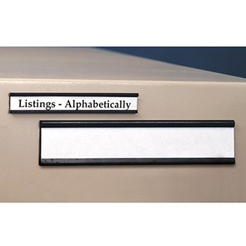 Magnetic Shelf Label Holders  sc 1 st  The Library Store & Shelf Label Holders u0026 Inserts - Magnetic Shelf Label Holders
