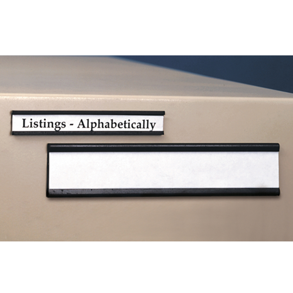 Magnetic Shelf Label Holders