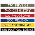 TLS™ Engraved Dewey Decimal Signs