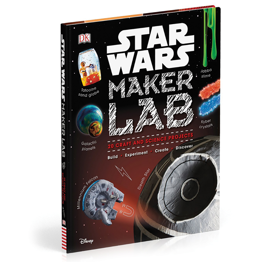 Star Wars Maker Lab: 20 Craft and Science Projects Book