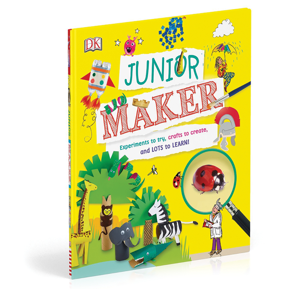 Junior Maker Projects Book