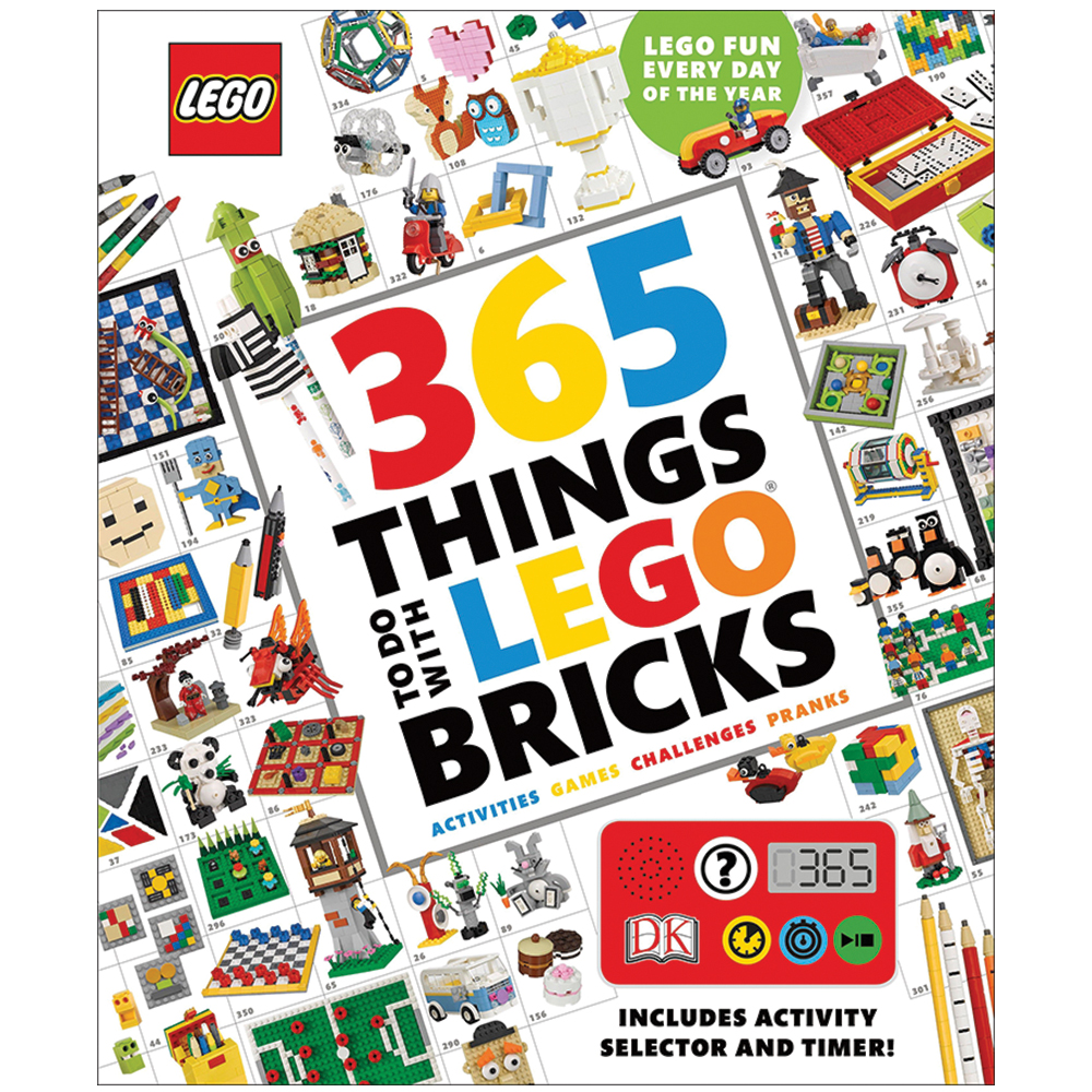 365 Things to Do with LEGO® Bricks BookNew!