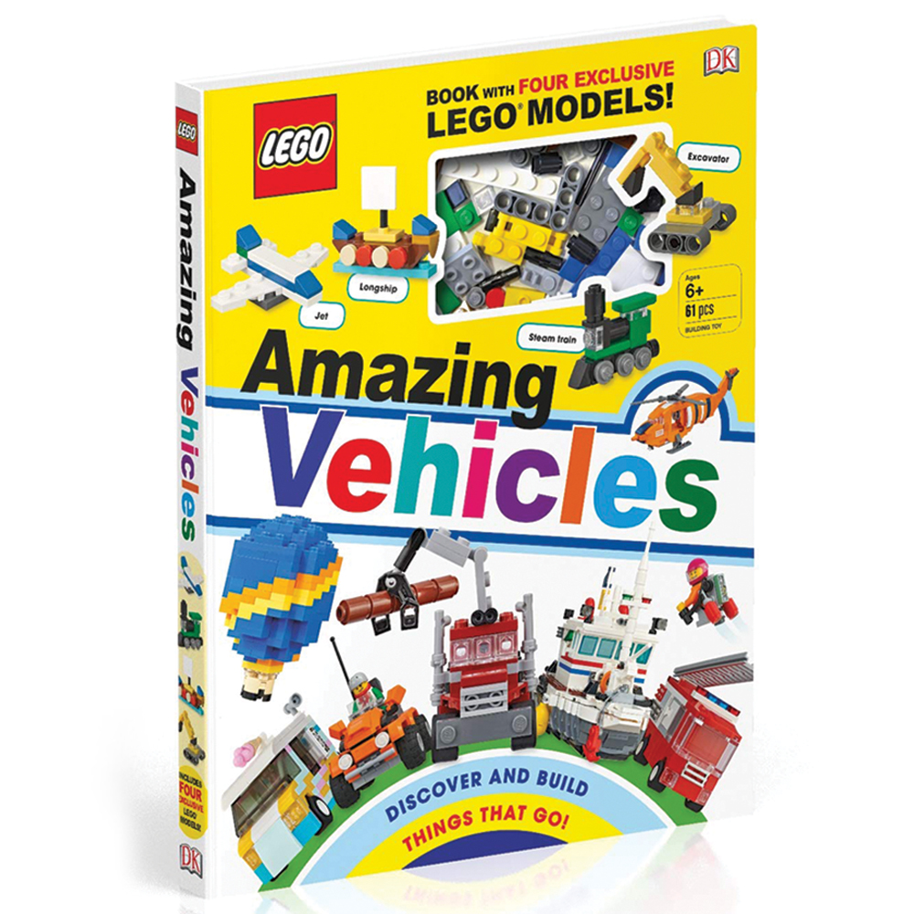LEGO® Amazing Vehicles Book