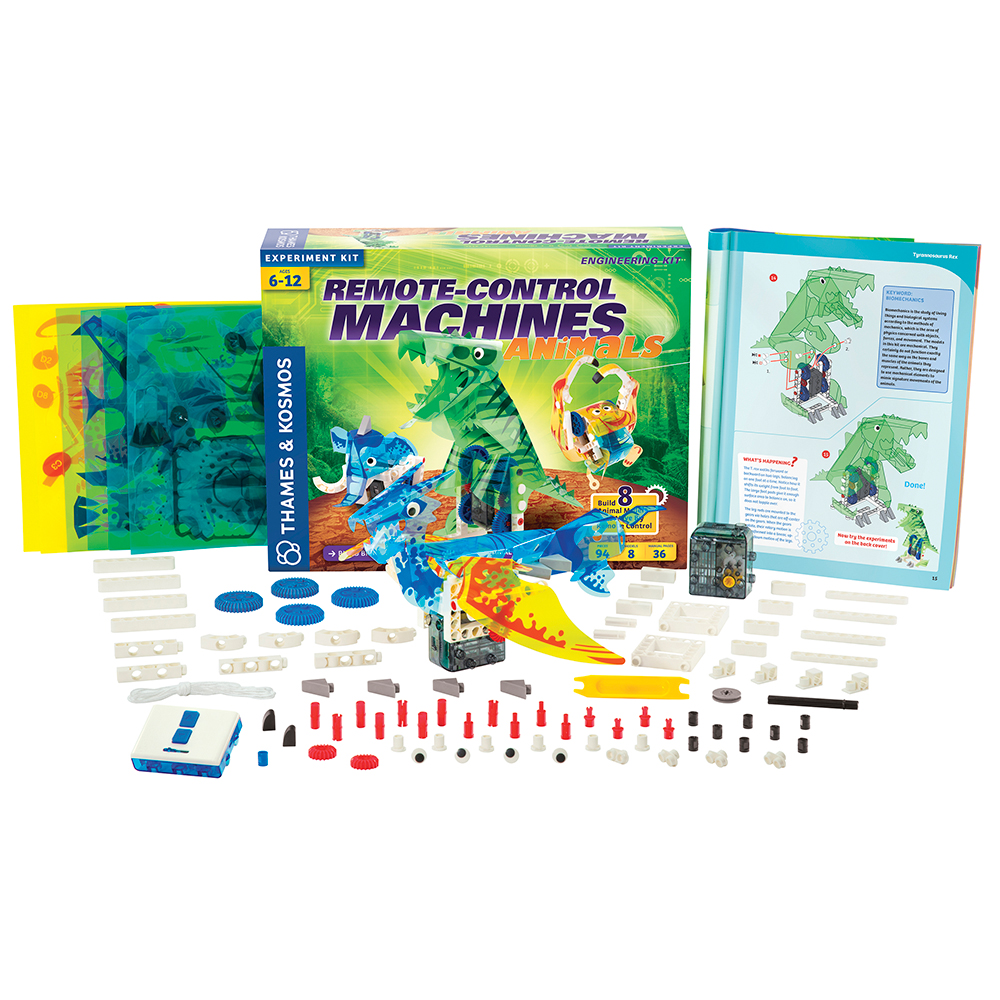 Remote-Control Machines Engineering Kit: Animals