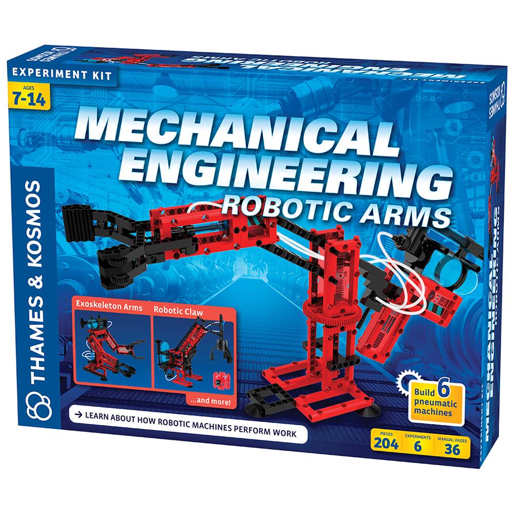 Engineering STEM Kit: Mechanical - Robotic Arms