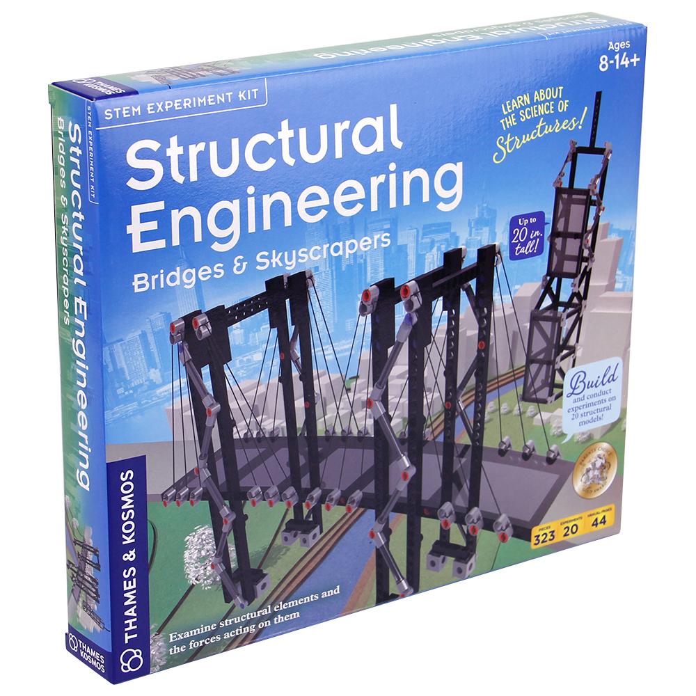 Engineering STEM Kit: Structural - Bridges & Skyscrapers