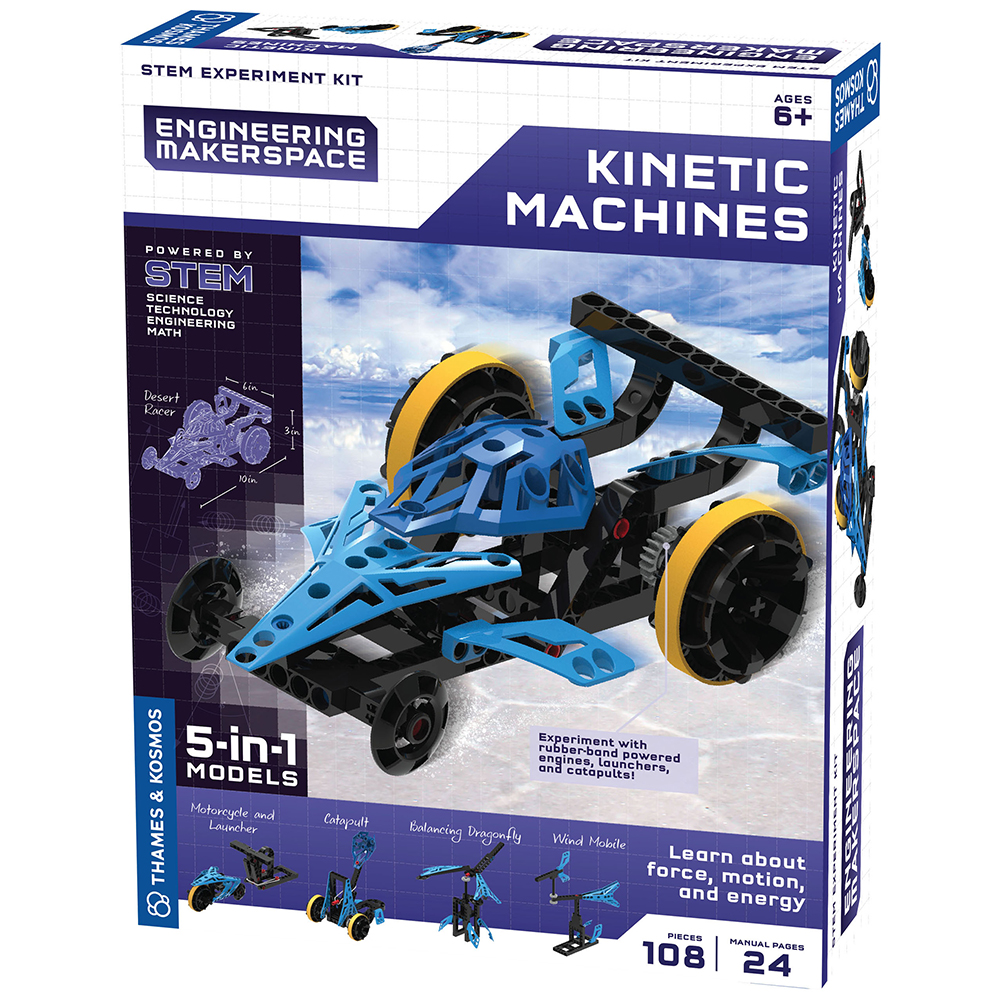Engineering Makerspace STEM Kit: Kinetic Machines
