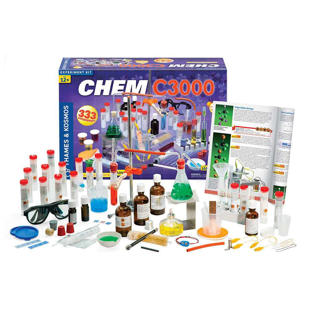Chemistry Experiment Set: CHEM C3000 - Advanced