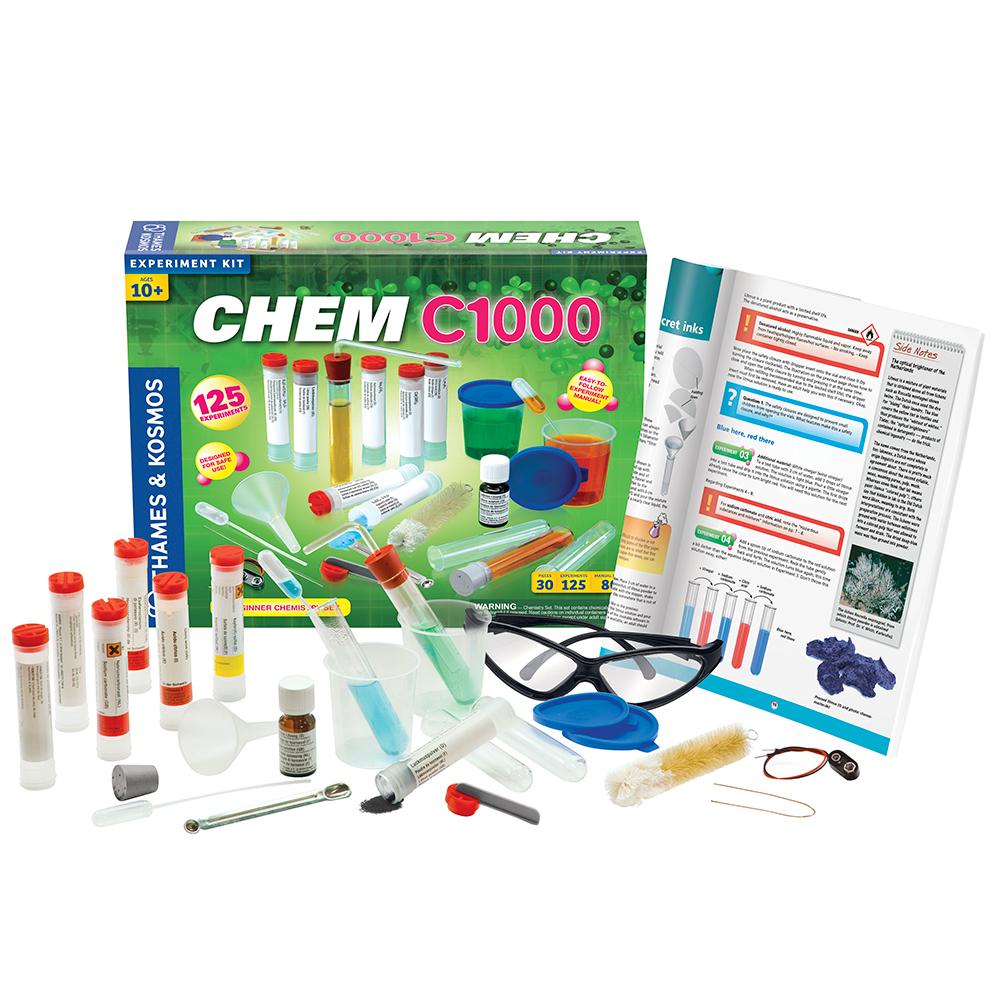 Chemistry Experiment Set: CHEM C1000 - Beginner