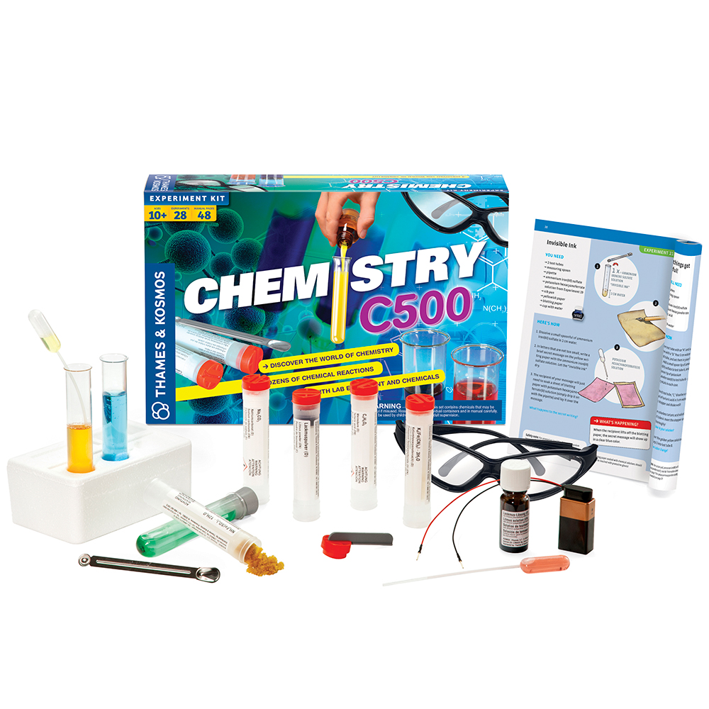 Chemistry Experiment Set: CHEM C500 - Introduction