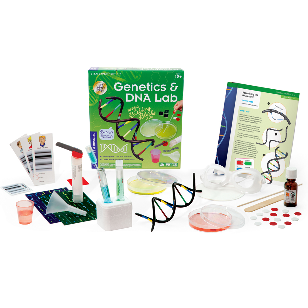 Biology Science Kit: Genetics & DNA Lab