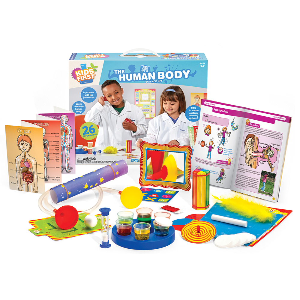 Biology Science Kit: Kids First The Human Body