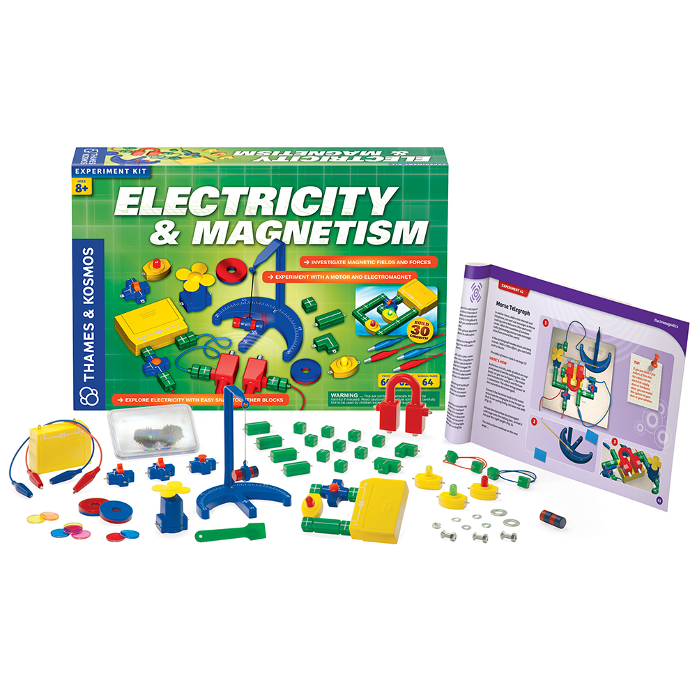 Electrical Science Kit: Electricity & Magnetism