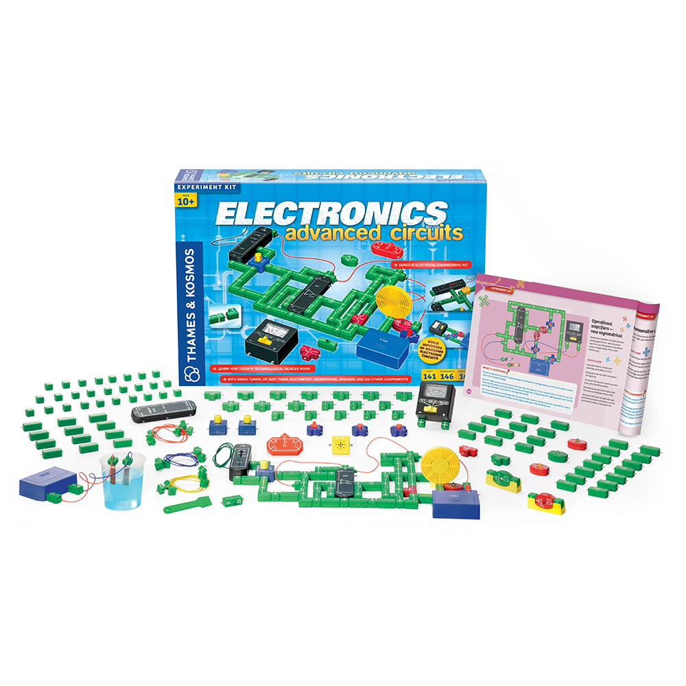 Electrical Science Kit: Electronics Advanced Circuits