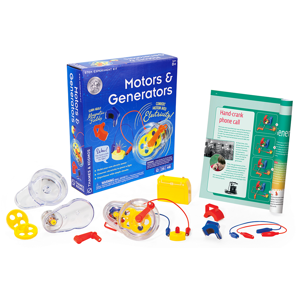 Electrical Science Kit: Motors & Generators