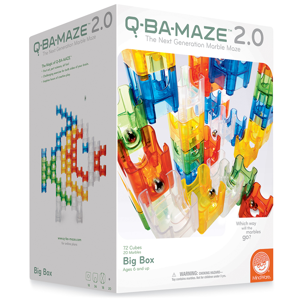 Q-BA-MAZE™ 2.0 Marble Maze Building - Big Box Set