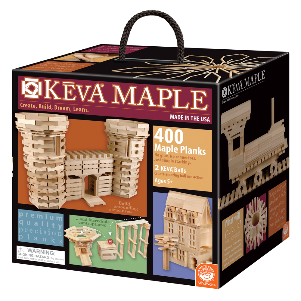 KEVA® Plank Building Set - Maple Plank Set - 400/Pkg