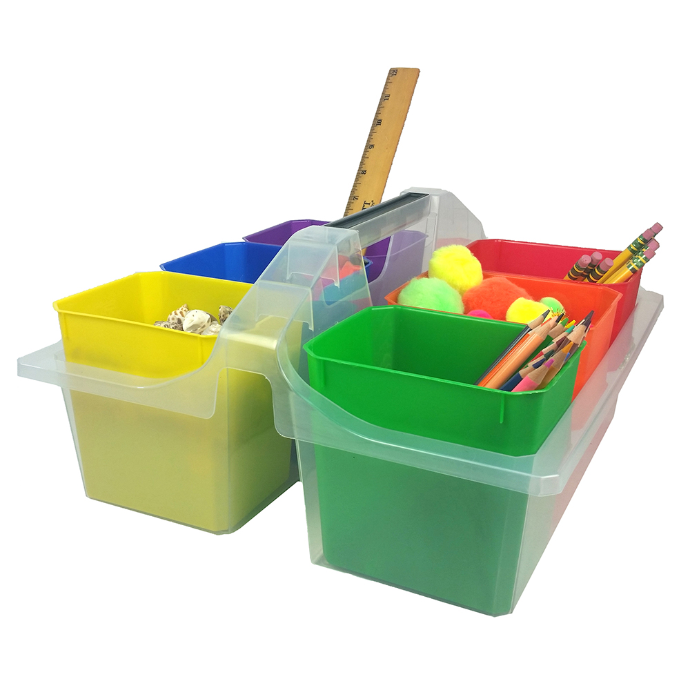 Classroom Caddy with Removable Cups - Large