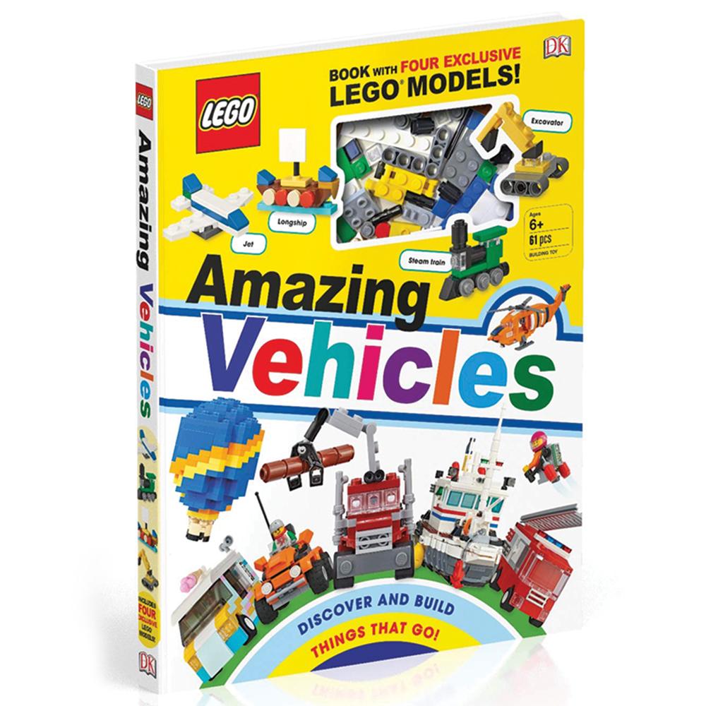 LEGO® Amazing Vehicles Book