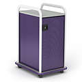 Paragon A & D® Crossfit Storage Single Tower With Door  - 7 Totes