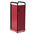Paragon A & D® Crossfit Storage Single Tower With Door - 7 Totes,2 Shelves