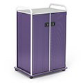 Paragon A & D® Crossfit Storage Double Tower with Doors - 22 Totes