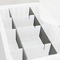 cef Stewart Storage Cart - Optional Long Dividers For Bins (6 pack)