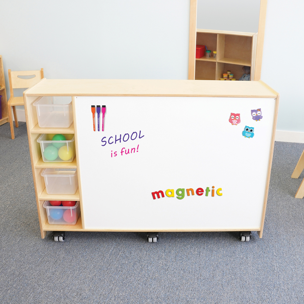Whitney Brothers®  Markerboard Mobile Storage Cabinet