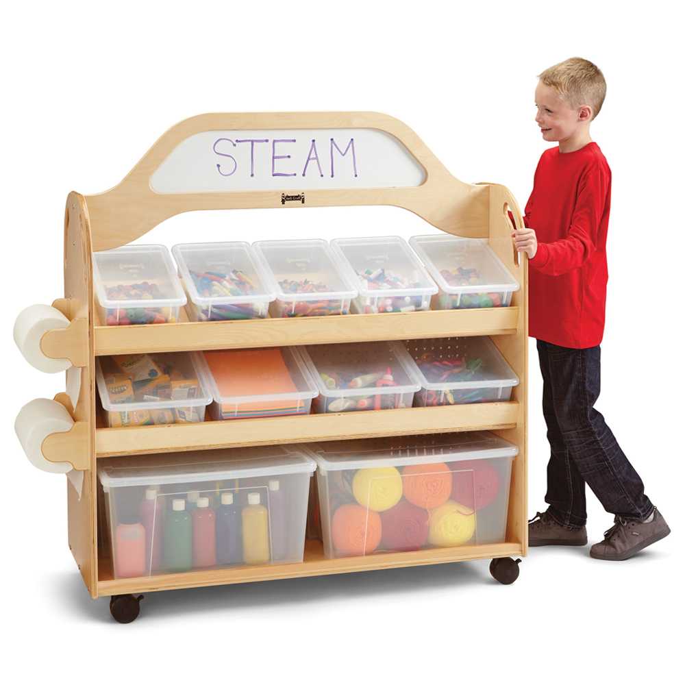 Jonti-Craft® STEAM Multimedia Cart