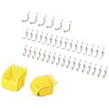 Jonti-Craft® Pegboard Hooks & Mini Bins Set - 43/Pkg