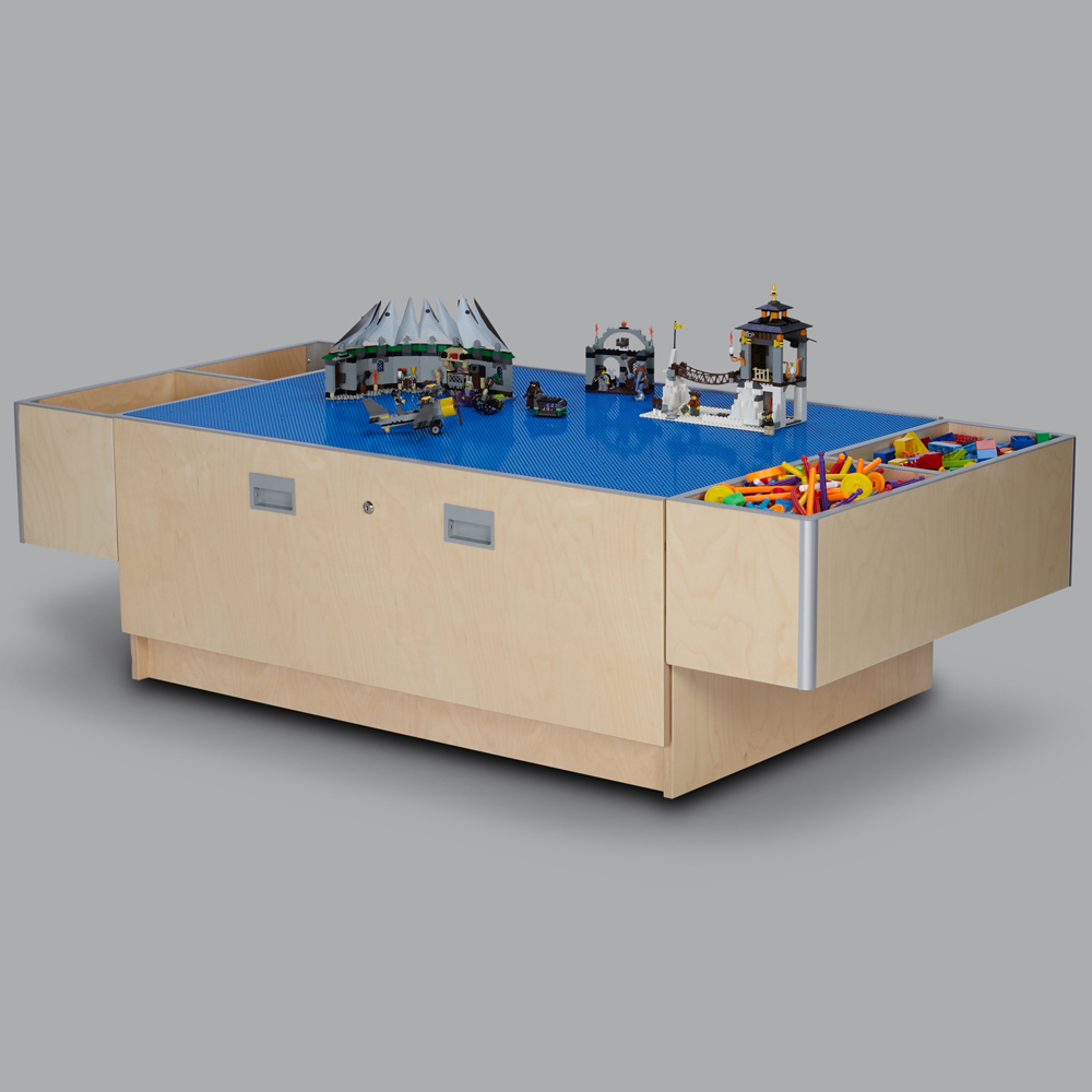 3branch Discovery Table with Lego Top and 2 Floating Storage BinsNew!