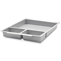 Gratnells® Tray Insert - 1 Large & 2 Small Sections