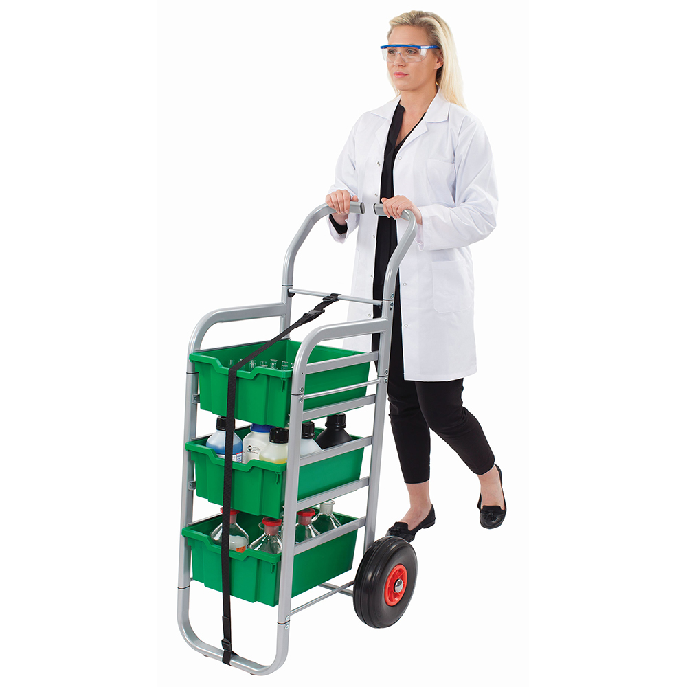 Gratnells® Rover Cart - 3 Deep Trays