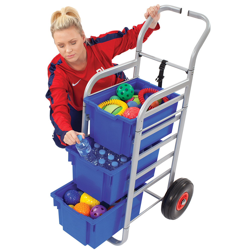 Gratnells® Rover Cart - 3 Extra Deep Trays