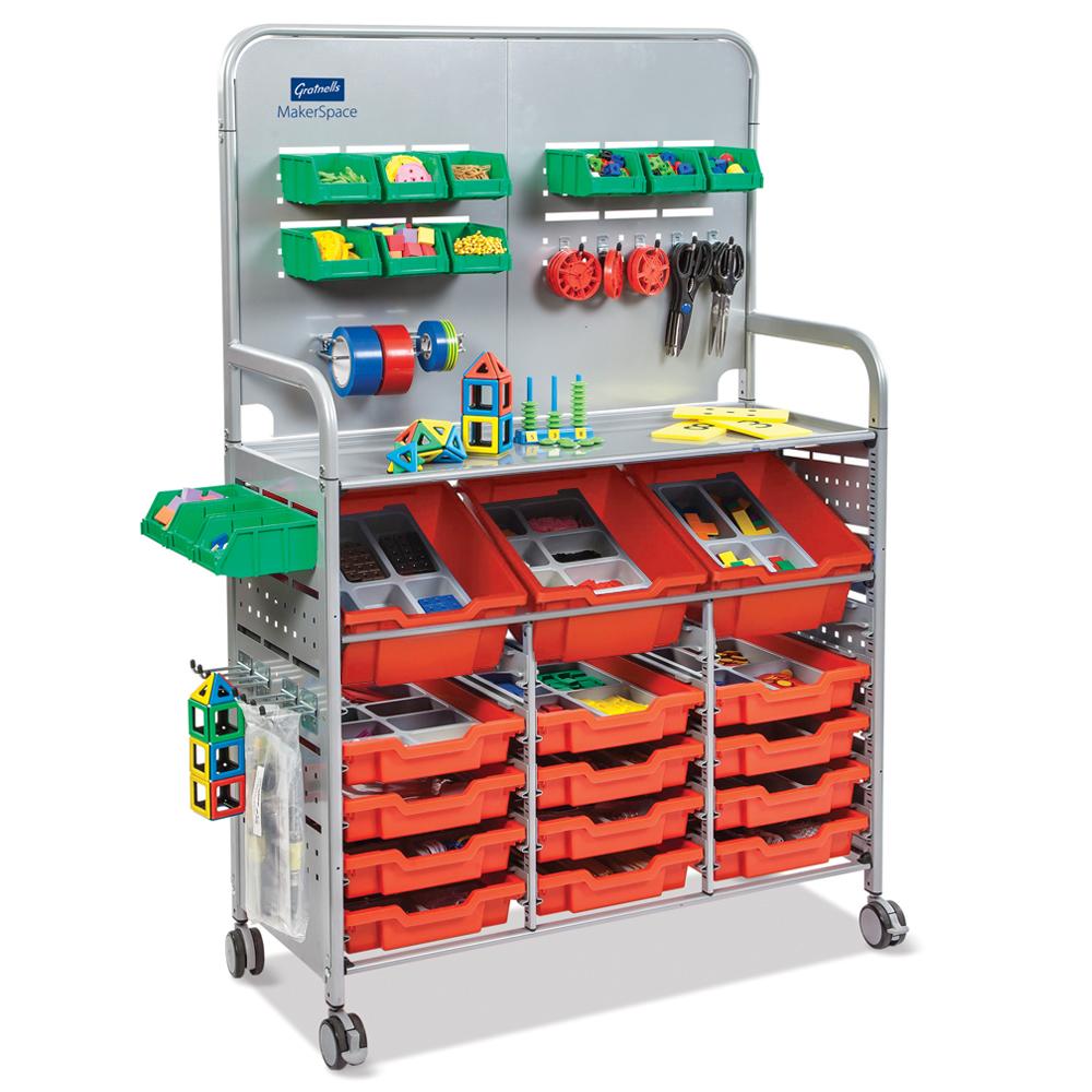 Gratnells® MakerSpace Cart