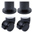 Feet Style , 2 Glides/2 Locking Casters