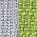 Fabric , Silver Gray/Lime Green