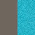 Toffee Gray Seat/Turquoise Blue Backrest KL43