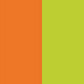 Orange/Light Green